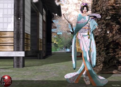 Silvery K - KimonoMesh (Sakura)