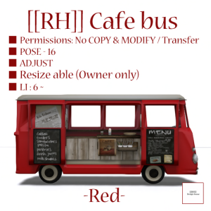 [[RH]] Cafe bus (Red) POP_100%