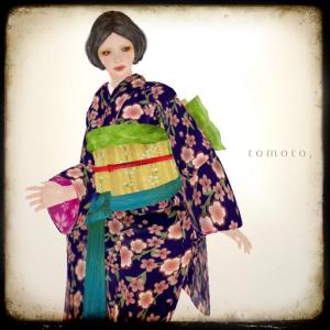 tomoto, sakura en fleur - 100% - Tomo Wachter